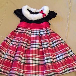 Toddler girls holiday dress